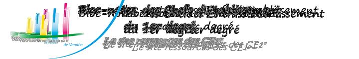 Bloc-notes des Chefs d'Etablissement du 1er degré, des infos, des ressources, des outils